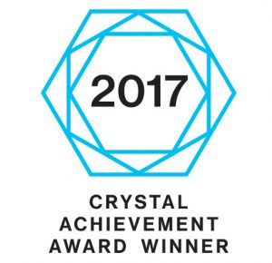 Crystal Achievement Award Winner for Innovative Window Design