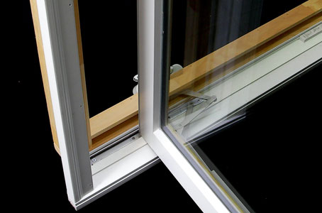 Casement window crank operation