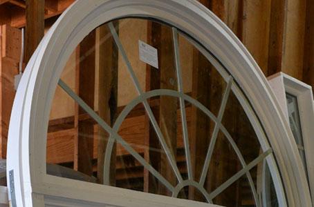 Window Grill Pattern on Radius Window