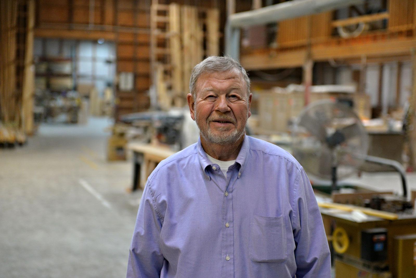 W. Bailey Bowline, CEO Precision Millworks